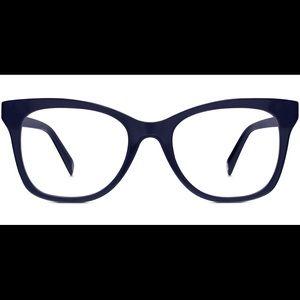 Warby Parker Hallie Glasses -Lapis Crystal 356